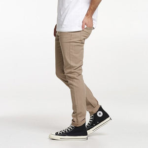 Slim Canvas Pants