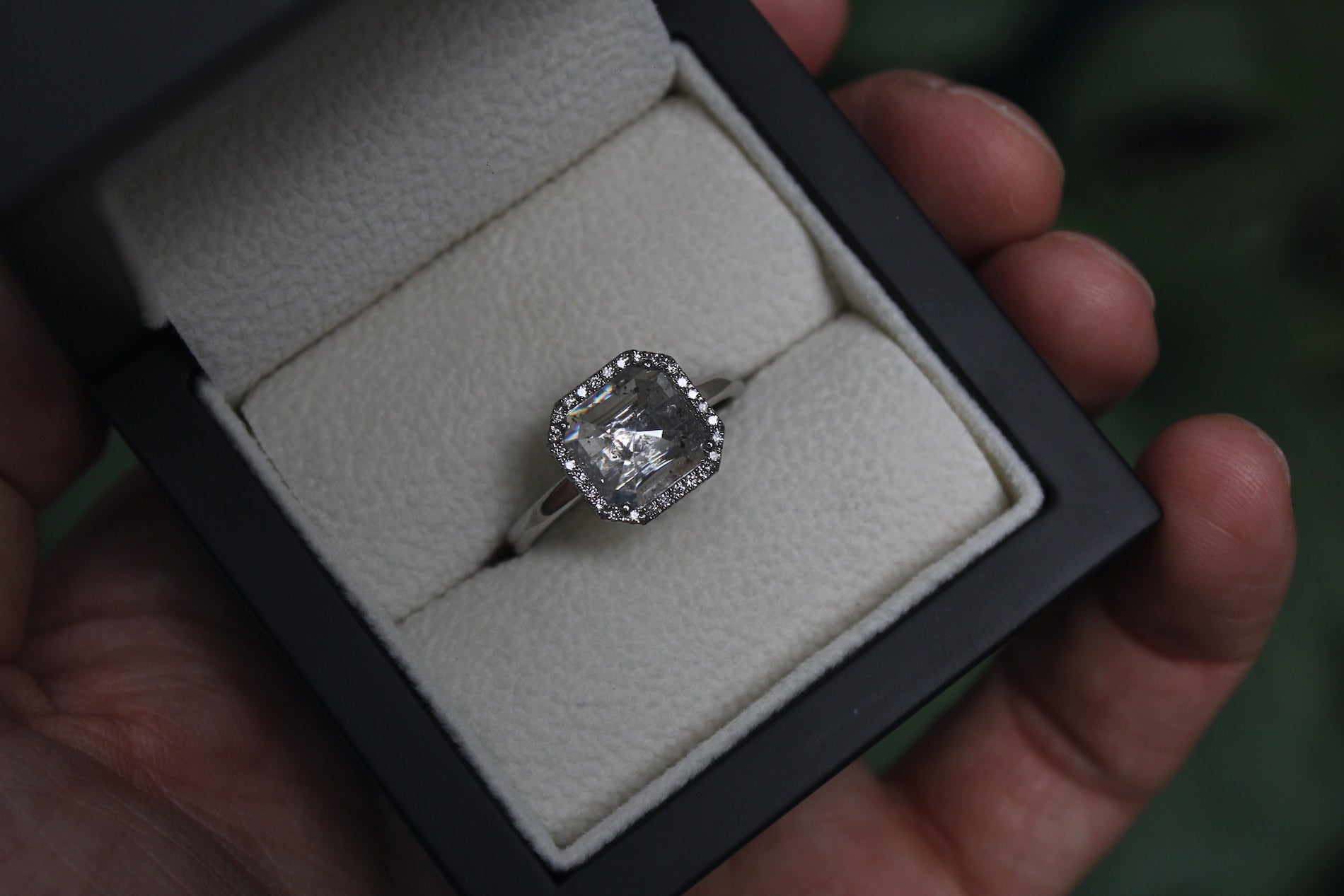Ice Diamond Engagement Ring