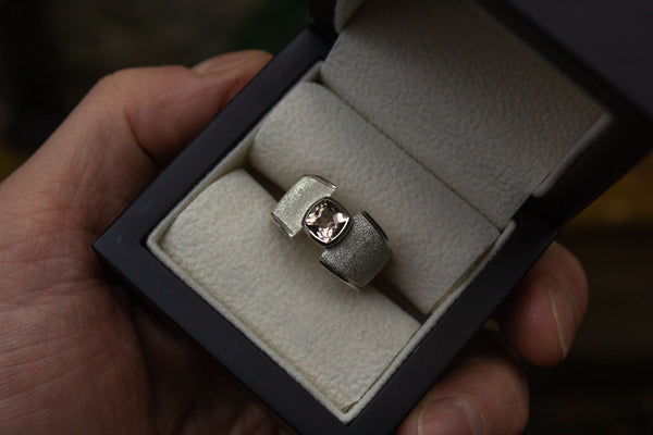 Scottish Cairngorm Quartz Ring