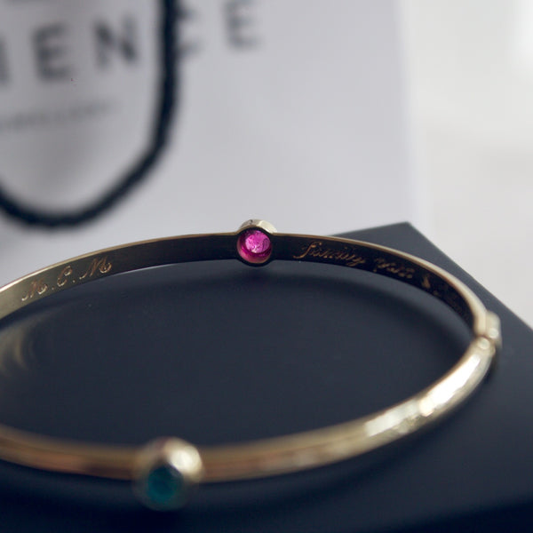 Patience Jewellery Gold Bangle