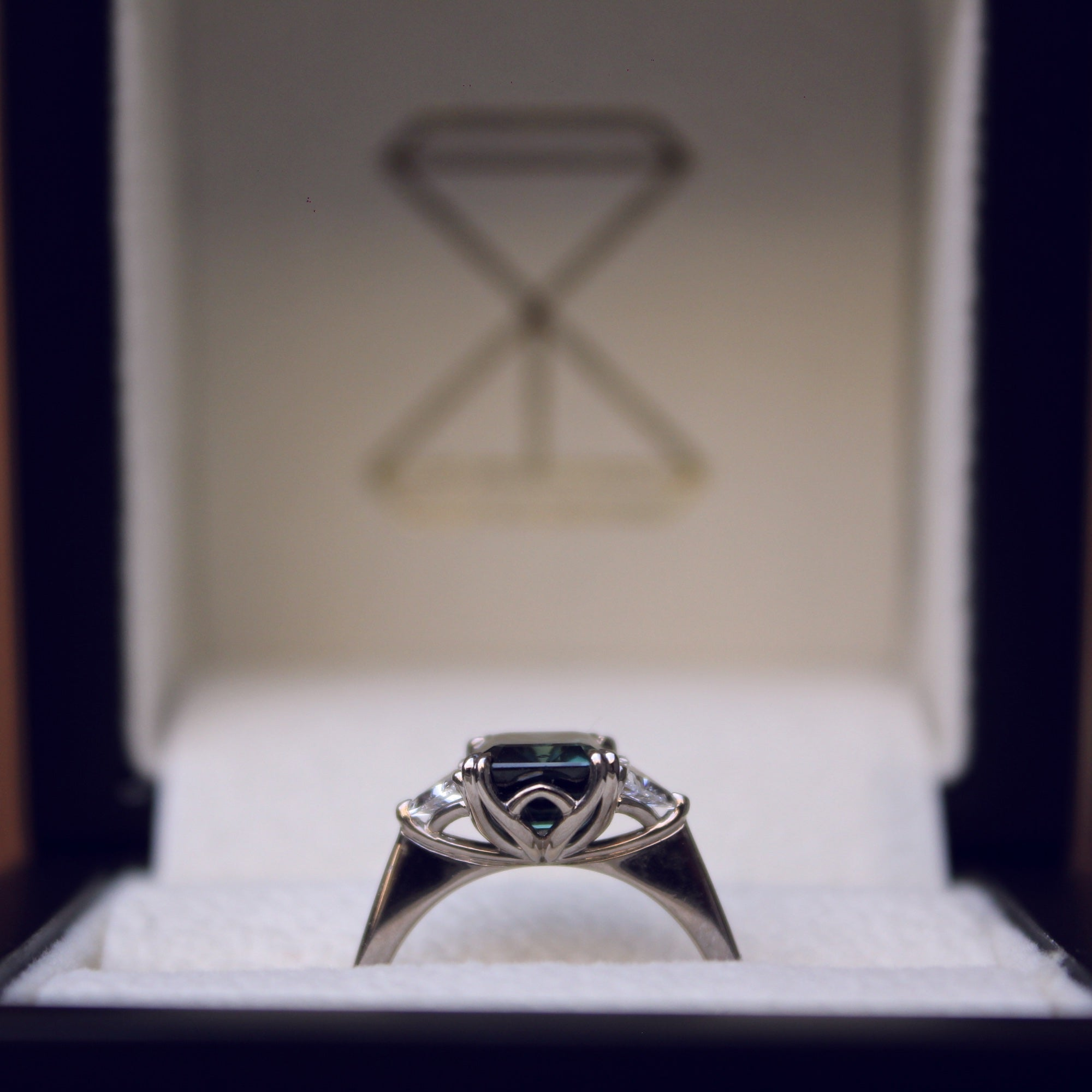 Moira Patience Fine Jewellery Bespoke Commission Oval Diamond Engagement Ring in Edinburgh