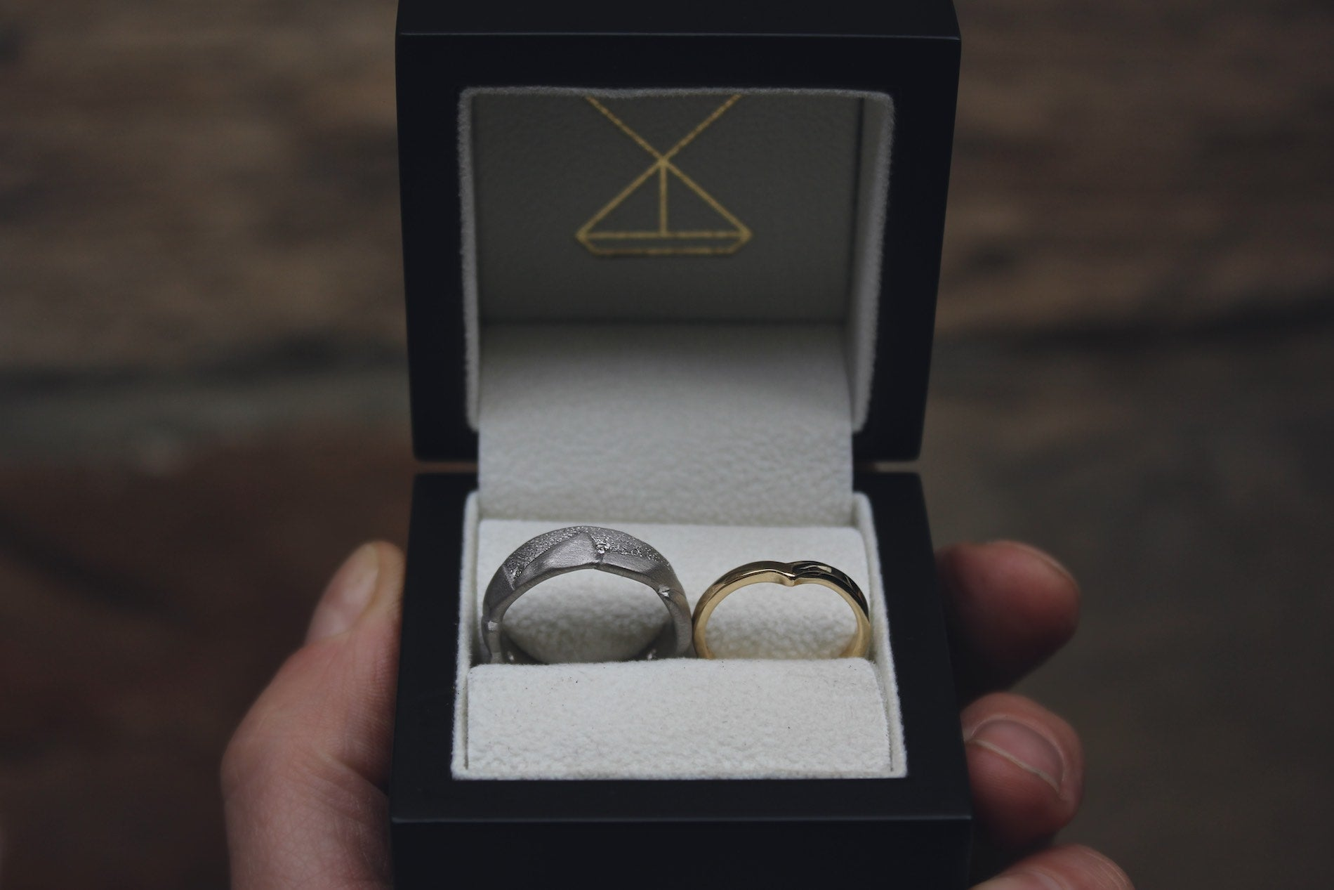Moira Patience Fine Jewellery Bespoke Handmade Commission Wedding Rings Edinburgh