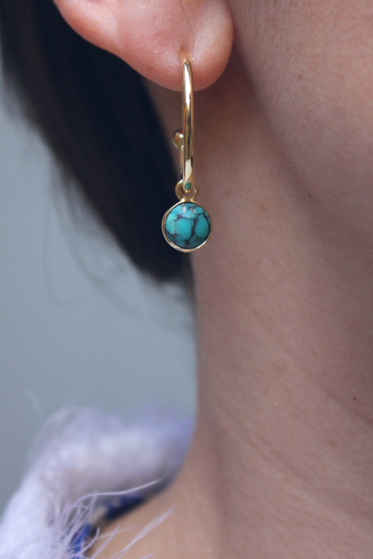 Moira Patience Fine Jewellery Bespoke Jewellery Commission Turquoise Ring and Earrings in Edinburgh