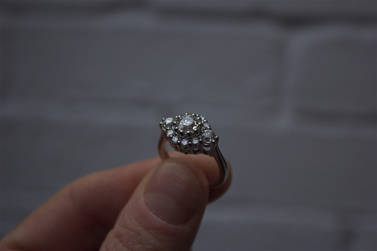 Moira Patience Fine Jewellery Edinburgh Bespoke Remodelled Diamond Engagement Ring