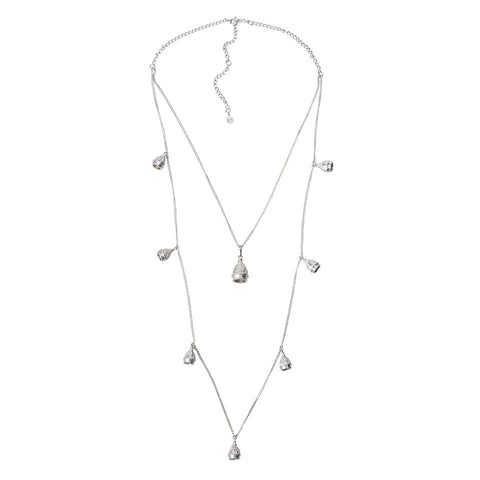 Double Row Bell Necklace