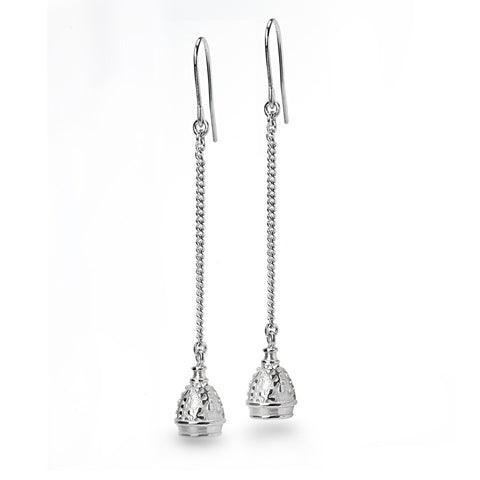 Bell Chain Earrings