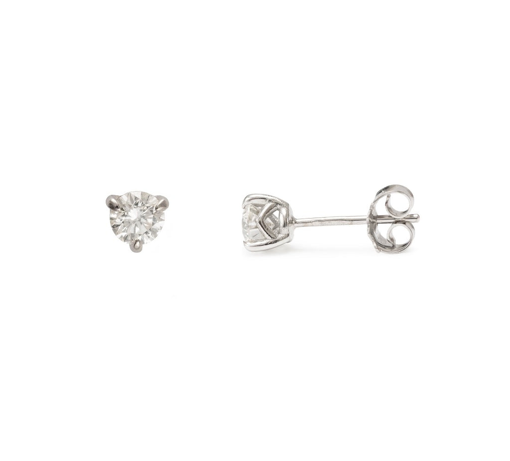 Moira Patience Fine Jewellery Supernova Diamond Studs in White Gold