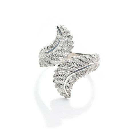 Patience Jewellery Silver Fern Ring
