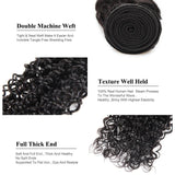 lumiere Hair 2Bundles Kinky Curly Virgin Human Hair Extension - lumiere Hair