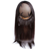 lumiere Hair Malaysian Straight Virgin Hair 2 Bundles with 360 Lace Front Closure Human Hair - lumiere Hair