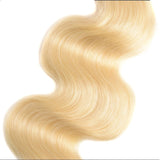 613 Blonde Color 3 Bundles Body wave Virgin Human Hair