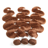 lumiere Color #30 body wave 3 Bundles 100% Virgin Human Hair Extension