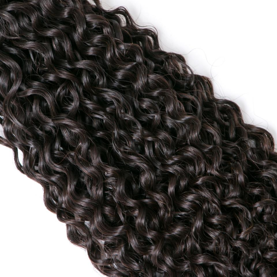 lumiere Hair 2 Bundles Kinky Curly Virgin Human Hair Extensions