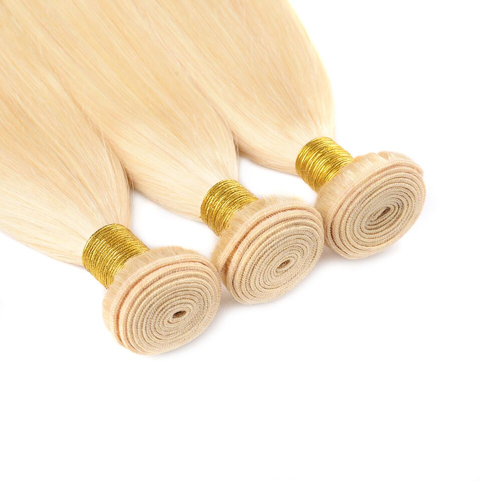 lumiere 613 Blonde Color 2 bundles Straight Virgin Human Hair