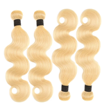 lumiere 613 Blonde Body Wave 4 Bundles with 4*4 Closure Human Virgin Hair