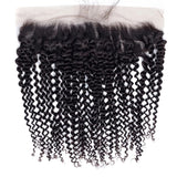 lumiere One Piece Kinky 13x4 Lace Frontal Closure Virgin Human Hair