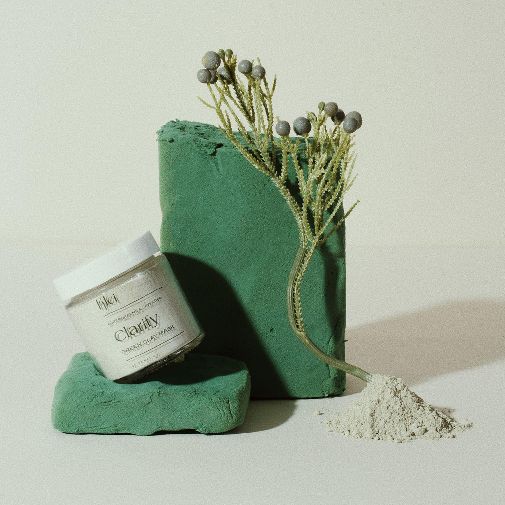 Clarify SuperGreens & Lavender Green Clay Mask