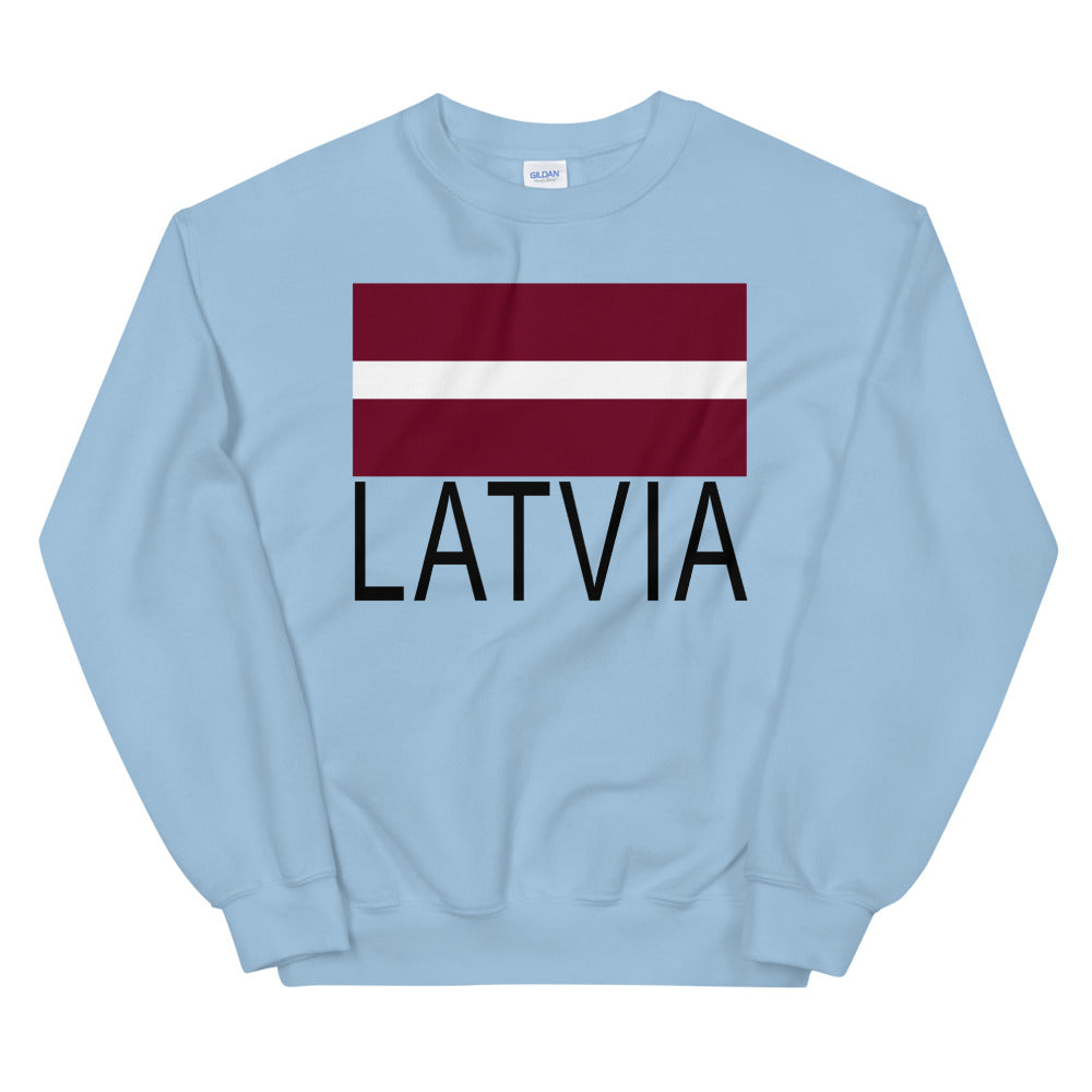 Flag Latvia Sweatshirt