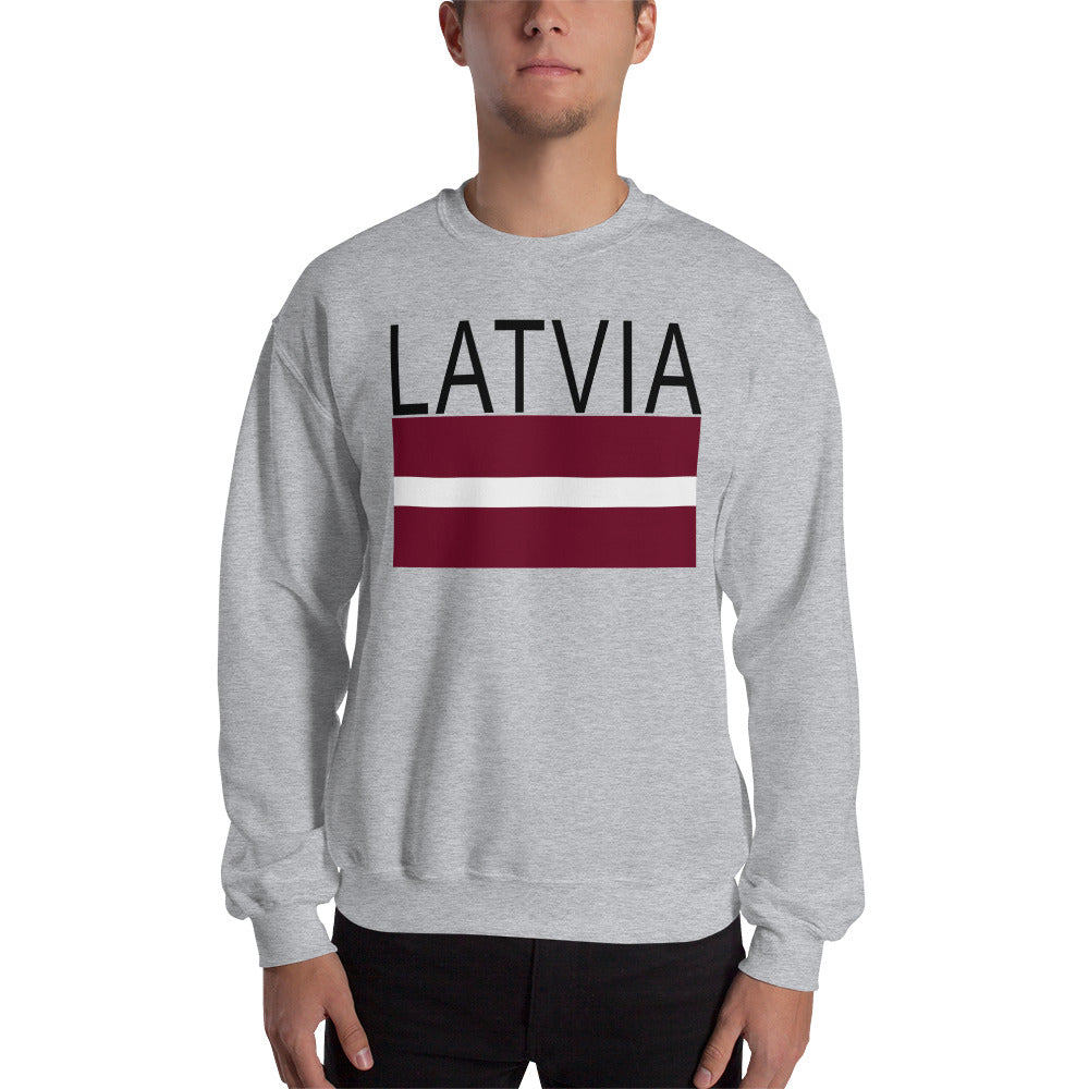 Latvia Flag Sweatshirt