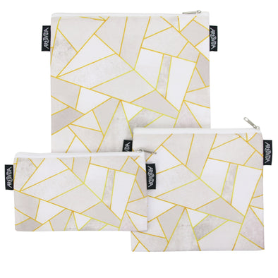Sandwich Baggie Set - Elisabeth Fredriksson - White Stone (Set of 3)