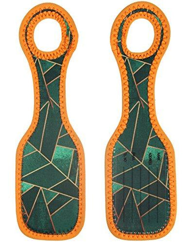 Emerald Copper - Neoprene Luggage Tags
