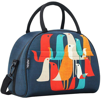 Flock Of Birds - Uptown Collection Large Neoprene Lunch Tote