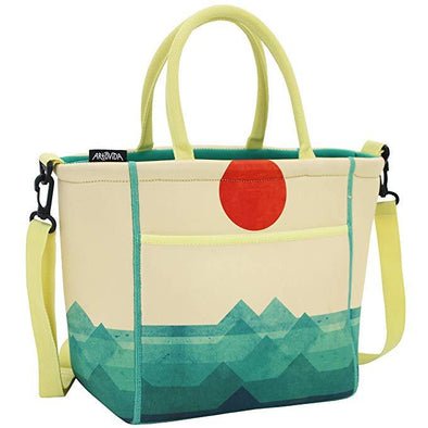 The Ocean, the Sea, the Wave - Tica Collection Extra Large Neoprene Lunch Tote