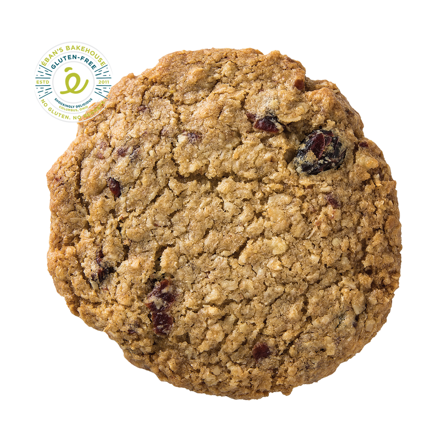 Gluten-free Cranberry Walnut Coconut Oatmeal Cookie from Éban's Bakehouse