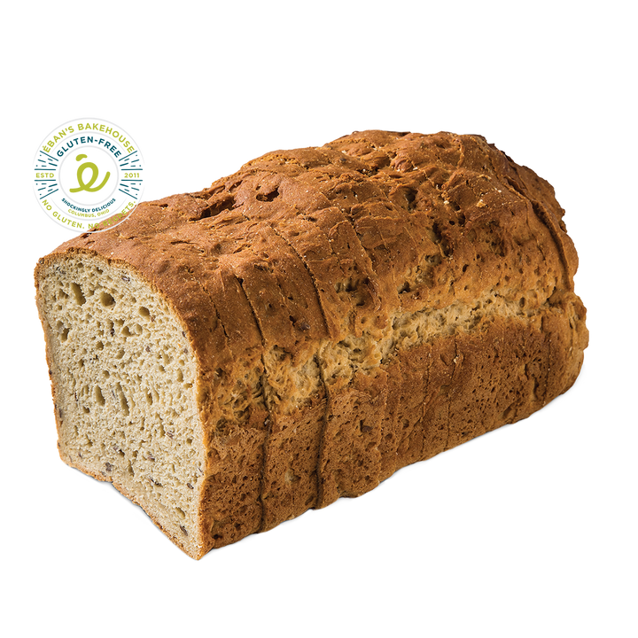 Gluten-free Flaxseed Oat Bread from Éban's Bakehouse