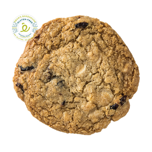 Gluten-free White Chocolate Cherry Oatmeal cookie from Éban's Bakehouse