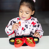 Bumkins: Silicone Grip Dish (Minnie Mouse) - Fancy Tot