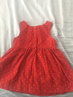 Baby Gap Dress (Red w/ White Polka Dots) - Fancy Tot