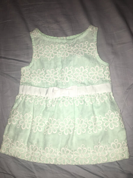 Janie & Jack Dress (Green)