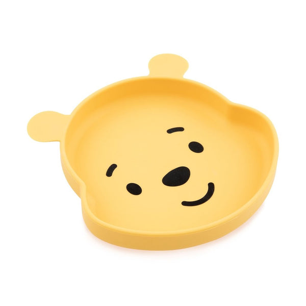 Bumkins: Silicone Grip Dish (Winnie the Pooh) - Fancy Tot