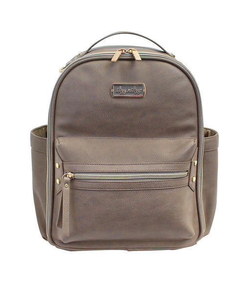 Itzy Ritzy: Mini Diaper Backpack (Taupe)