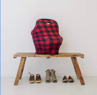 Itzy Ritzy: 4-in-1 Multi-Use Mom Boss (Buffalo Plaid)