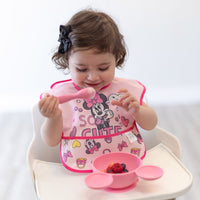Bumkins: Superbib 2-Pack (Minnie Mouse - Cute) - Fancy Tot