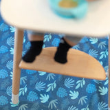 Bumkins: Splat Mat (Blue Tropic) - Fancy Tot