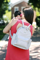 Itzy Ritzy: Mini Diaper Backpack (Grey)