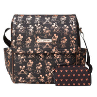 Petunia: Boxy Backpack (Metallic Mickey Mouse) - Fancy Tot