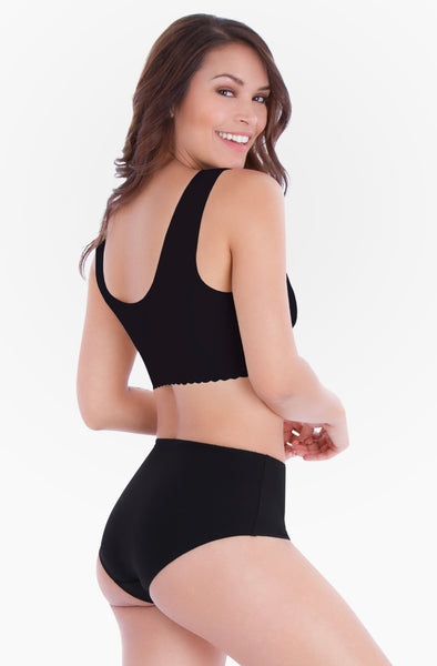 Belly Bandit: Mother Tucker Smoothing Panties (M) (Black) - Fancy Tot