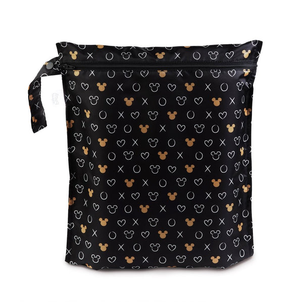 Bumkins: Wet Bag (Minnie Mouse BW)