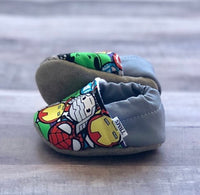 TBMS: Low Tops (Avengers) (3-6 Months) - Fancy Tot