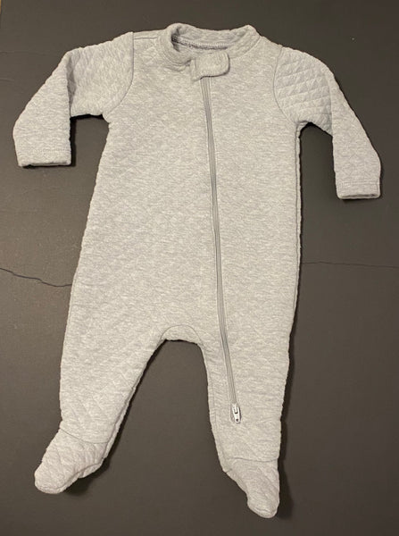 Old Navy Quilted One Piece (Grey) - Fancy Tot