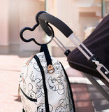 Petunia: Mickey Mouse Stroller Hook (Black) - Fancy Tot