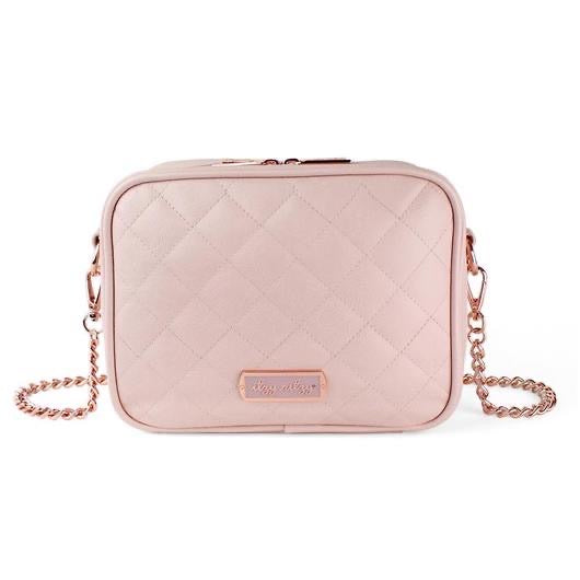 "Itzy Ritzy: Diaper Bags ""The Double Take"" Crossbody (Blush)"