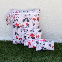 Bumkins: Wet Bag (Minnie Mouse Classic) - Fancy Tot