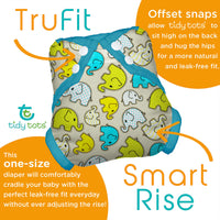 Tidy Tots: Diaper Cover (Forest Friends)