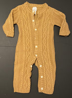 Baby Gap Cable Knit Onesie (Brown)