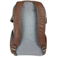 Itzy Ritzy: Boss Diaper Bag Backpack (Handsome Heather Grey) - Fancy Tot